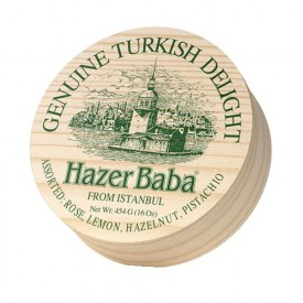 HazerBaba Genuine Turkish Delight From  İstanbul Assorted 454g