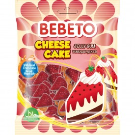 Bebeto Jelly Cheese Cake Soft Candy 80 gr