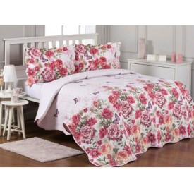 OZDILEK Breezy Single Bed Cover Pink
