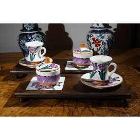 Iznik Tile Vip Coffee Set