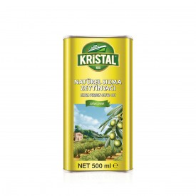 Kristal Natural Extra Virgin Olive Oil 500 ml Can YD