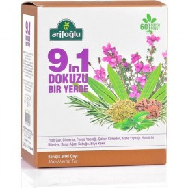 ARIFOGLU Nine-in-One Form Tea 60-lined Bag